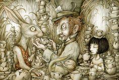 The Tea Party (by Adam Oehlers) [Wonderland]