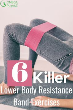 Posterior Chain Exercises, Thigh Exercises, Resistance Workout, Resistance Band Exercises, Resistance Tube, Leg Routine, Sport, Butt Workout, Glutes