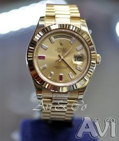 Nice Rolex Men Gold Watch cool DAY-DATE II 2 PRESIDENT YELLOW GOLD WATCH WITH DIAMOND AND RUBY DIAL FLUTED... Check more at http://24myshop.ml/my-desires/rolex-men-gold-watch-cool-day-date-ii-2-president-yellow-gold-watch-with-diamond-and-ruby-dial-fluted/
