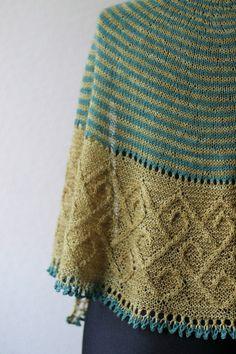 Carradal shawl by Lucy Hague