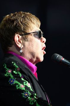 As well as his well-loved classics, Sir Elton John performed songs from his new album.