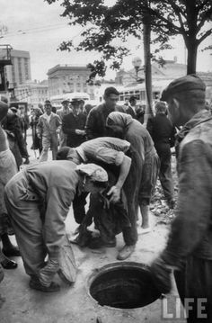 Москвички 1959-го года Фотограф Лиза Ларсен (Lisa Larsen)