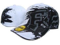 Levný Fox Racing White Vestavěná Hat 9 levných Klobouky ID 4881