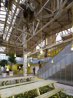 Office IMd, Rotterdam, 2011 - Ector Hoogstad Architects #warehouse