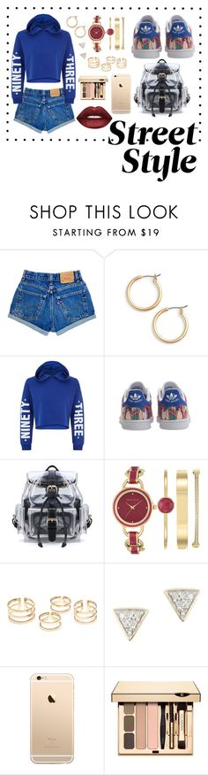 """""""Sans titre #35"""" by genehigh on Polyvore featuring mode, Nordstrom, New Look, adidas Originals, Anne Klein, Adina Reyter et Lime Crime"""