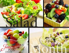 Did you eat a salad today? May is National Salad Month. Enjoy! #jpcanada