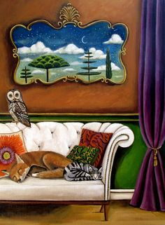 """Sleep Study III"" by Catherine Nolin"