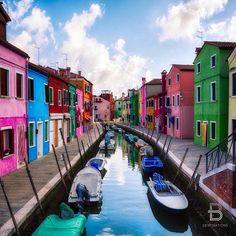 Burano, Italy   beautiful destinations