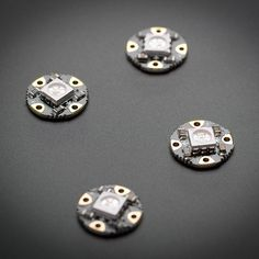 What's a wearable project without LEDs? Our favorite part of the Flora platform is these tiny smart pixels. Designed specifically for wearables, these updated Flora NeoPixels have ultra-cool technology: these ultra-bright LEDs have a constant-current driv Ps4, Panel Led, Pixel Drawing, Led Board, Cool Technology, Diy Electronics, Led Strip, Smart Technologies, As You Like