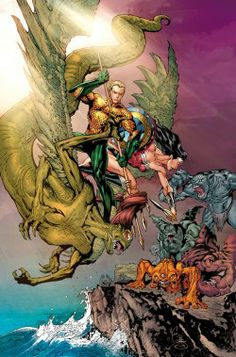 "Parker Infuses ""Aquaman"" with Wonder Woman, ""True Detective"" - Comic Book Resources"