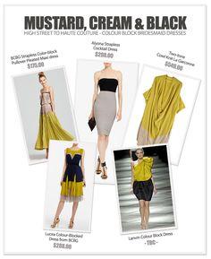Colour Block Bridesmaid Dresses