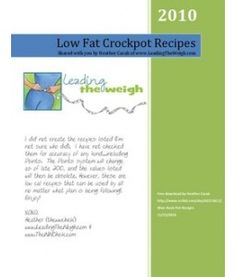 Low Fat Crockpot Recipes with WW Points. Great link to check out.