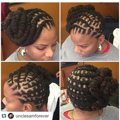 Image may contain: 1 person Female Dreadlocks Styles, Dreads Styles For Women, Dreadlock Styles, Short Locs Hairstyles, My Hairstyle, Wedding Hairstyles, Natural Hair Updo, Natural Hair Styles, Updo Styles