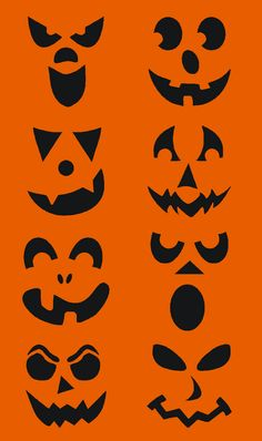Fun Halloween Crafts, Theme Halloween, Halloween Stickers, Diy Halloween Decorations, Holidays Halloween, Halloween Pumpkins, Halloween Painting, Halloween Design, Happy Halloween