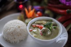 Green Curry with Chicken... - royal dockside