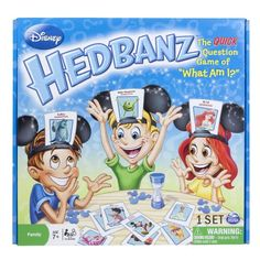 Spin Master Games Disney Hedbanz Board Game for only $13.16 You save: $4.83 (27%)