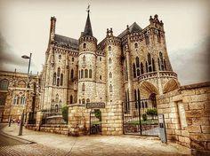 Palacio Episcopal de #Astorga (#España). http://www.europeosviajeros.com