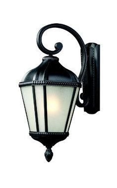 Z-Lite 513S-BK Waverly Outdoor Wall Light by Z-Lite. $160.43. For a bold outdoor fixture with a warm glow, look no further than this small wall mount. The pronounced arm holds a lantern made of white seedy glass panels, while the fixture is finished in a sleek black finish. This fixture is made of cast aluminum, and is made to withstand all seasons.
