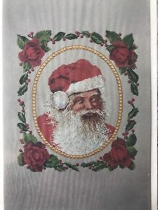 Santa Claus Cross Stitch Chart Pattern by The Silver Lining You Better Watch Out    eBay