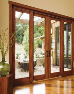 homeowners have no shortage of choice in selecting doors which range from solid flush styles to decorative glass paneled designs - Sliding Patio Door Replacement