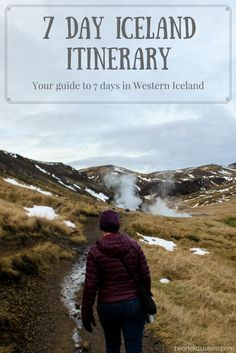 Planning a trip to Iceland can be difficult if you're not sure where to start or what to see. In this post, we share our week itinerary for Western Iceland. Use it as a guide to plan your time in one of the most beautiful countries in the world!