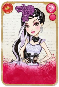 Mirror Blogs - Student Cards & Character Bios | Ever After High Royal Duchess Swan, daughter of the Swan Queen