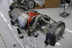 This is the business end of a Tesla! Electric Car Kit, Electric Car Engine, Electric Motor For Car, Electric Car Conversion, Tesla Electric Car, E Mobility, Automotive Engineering, Automobile, Tesla Motors