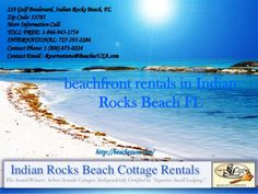 Arbor Seaside Cottages is beachfront rentals in Indian rocks beach FL and is…