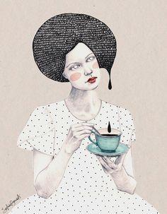 Sofia Bonati, ilustradora argentina auto-didata, atualmente morando no Reino Unido. + http://www.behance.net/Soffronia
