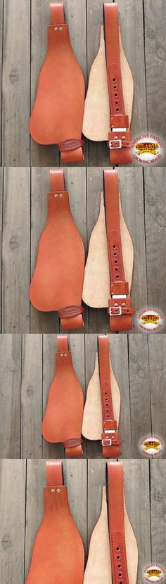Other Western Tack 47301: Cfn217 Hilason Leather Saddle Replacement Fender With Hobble Straps Adult -> BUY IT NOW ONLY: $84.99 on eBay!