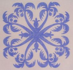 Hawaiian Pineapple Quilt Pattern