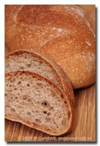 Luftigt dinkelbröd - Hembakat bröd