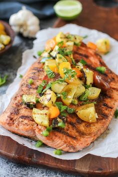 The Only Grilled Salmon Recipe You'll Ever Need - The Roasted Root