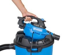 Vacmaster, 12 Gallon 5 Peak HP Wet/Dry Shop Vacuum with Detachable Blower, Protective Gloves, Tool Store, Utility Sink, Power Hand Tools, Toilet Cleaning, Wet And Dry, 2 In, Outdoor Power Equipment
