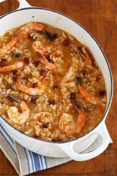 A close cousin to the jambalayas of Louisiana in composition if not texture, the bogs of the Carolina and Georgia coastal Lowcountry are an almost soupy rice specialty enriched with everything from se