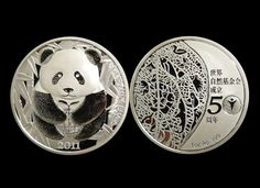 Extremely rare CHINA WWF 50th anniversary silver coin set (with Panda)