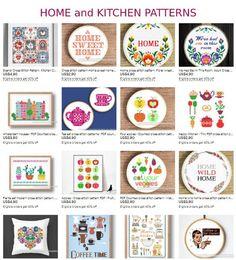 Kitchen cross stitch pattern PDF Home cooking food Small | Etsy Small Cross Stitch, Modern Cross Stitch, Cross Stitch Samplers, Cross Stitch Patterns, Happy Kitchen, Jar Lids, No Cook Meals, Tea Towels, Cooking Food