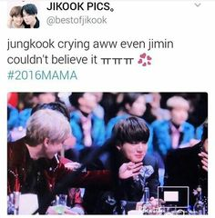 When i saw JK cry, seriously i wanted to hug him and say yes you deserve it! Im a proud noona