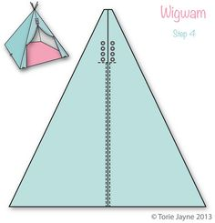 Wigwam Step 4 by toriejayne, via Flickr