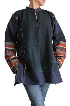 Thai aka Race : Old cloth recycling jacket