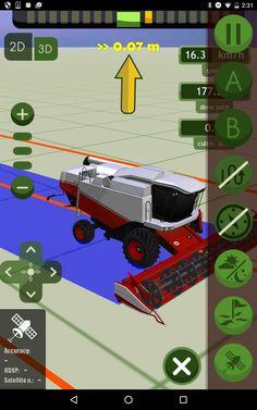 MachineryGuide harvester model 3D #MachineryGuide #models #harvester #guidance #application #agriculture