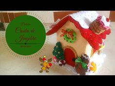 YouTube Felt Christmas, Christmas Projects, Xmas, Christmas Ornaments, Felt Decorations, Christmas Decorations, Holiday Decor, Navidad Diy, 242