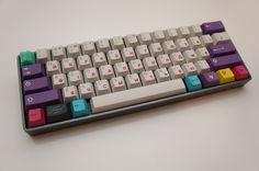 Dyesub keycaps and aluminum case. : MechanicalKeyboards
