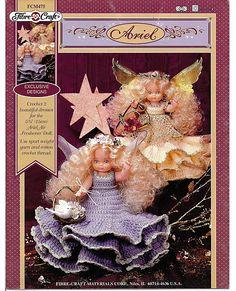 Ariel Angel or Fairy Air Freshener Doll by grammysyarngarden