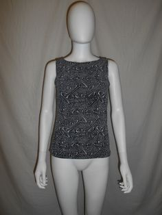 90s abstract sparkly top shirt by ATELIERVINTAGESHOP on Etsy
