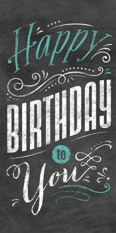 Chalkboard Birthday Card - Eimicke Collection from CardsDirect