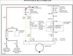 1326b6e9b0db36d8fbcbd5239c49ca10 taurus ford alternator wiring diagram ford taurus 2001 google search Alternator Wiring Diagram at soozxer.org