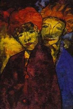 Le couple, par Emil Nolde                                                       …