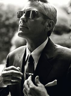 Norman Jean Roy photo.  This is an excellent photo for one of the guys.  Simple, clean cut, nice shades, gelled hair.  Nailed it.