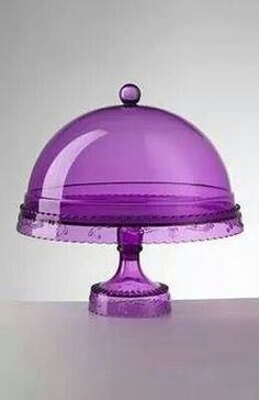 Purple cake dome
